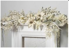 perfectlyfestive | Mantle Displays | Winters Lace
