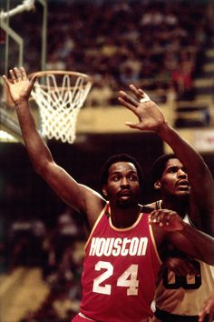 Moses Malone.    For all the latest Houston Rockets news and updates, visit www.rockets.com.