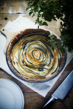 tart with zucchini