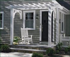 I could have a porch swing.  : )