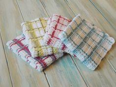 plaid wash, berri crochet, crochet washcloth pattern, wash cloth, tartan plaid, crochet washcloth free pattern, crochet videos, video tutori, crochet patterns