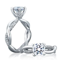 idea, someday, diamond rings, diamonds, braid, engagements, dream engagement rings, stud earring, engag ring