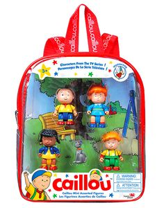 Caillou Backpack wit