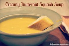 Keeping Up With The Jayneses: Creamy Butternut Squash Soup