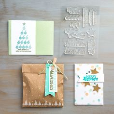 Made with the Christmas Bliss Photopolymer Stamp Set by Stampin' Up!