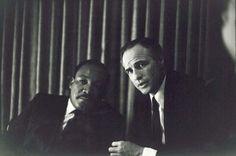 Martin Luther King Jr. e Marlon Brando, 1968