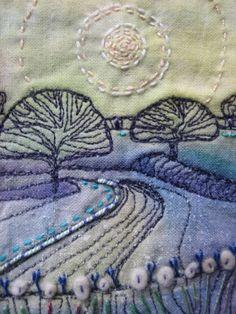 Stevie Walker - felt textile artist - home gallery blog