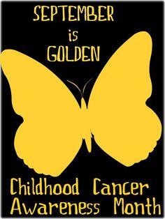 Go GOLD For CHILDHOOD CANCER!!
