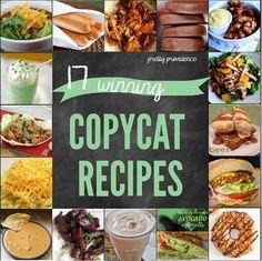 Restaurant Copy Cat Recipe Roundup!