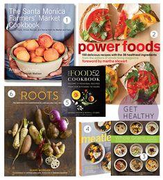 15 Favorite Healthy Cookbooks