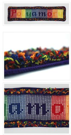 Rainbow Crochet Art