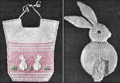 Crochet Spot » Blog Archive » Crochet Pattern: Animal Baby Bibs