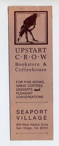 Upstart Crow Awesome Bookstore!