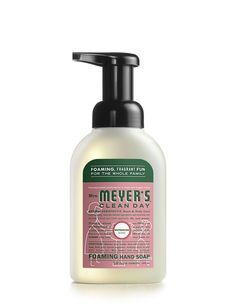 Mrs. Meyer's foaming hand soap now in a watermelon scent. Our kids can't stop washing their hands!