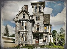The Knox House by muffet1.deviantart.com on @deviantART deviantart, houseold hickori, find beauti, structur art, hickori tavern, old houses, knox houseold, abandon, coudersport pa