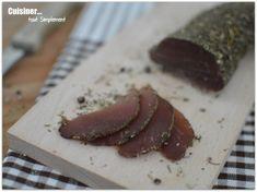 Filet mignon séché - Cuisiner... tout Simplement, Le Blog de cuisine de Nathalie