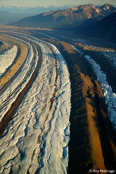 Kennicott Glacier, Wrangell-St. Elias National Park, Alaska.