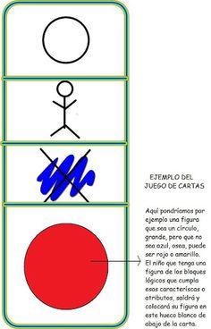 juego de cartas de atributos para los bloques lógicos de Dienes - caballa69 - - Álbumes web de Picasa