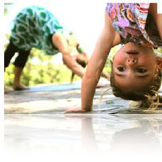 Great for children who are interested in yoga or the alphabet.  This would be a great pre-k activity because it allows them to move around, learn about personal space, calming themselves, and yet they are forming alphabet letters with their bodies!