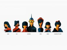 Team Portrait by Dan Matutina