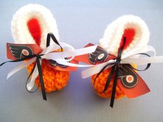 Philadelphia FLYERS Hockey Fans Handmade Baby by ZZsTeamTime, $10.00 fan handmad, hockey fan, philadelphia flyers, flyer hockey