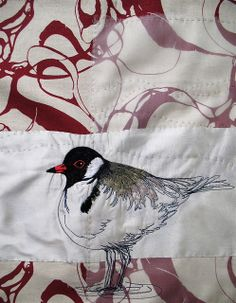 Tara Badcock for Circle of Designers, hooded plover 2012 panel by Tara Badcock, via Flickr