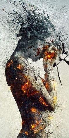 """""""Délibération"""" tableau digital de Mario Sánchez Nevado, illustrateur espagnol. Voir en gros plan : http://www.pinterest.com/pin/459367230714319912/"""