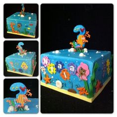 Bubble Guppies  Cake by The Buttercreamery