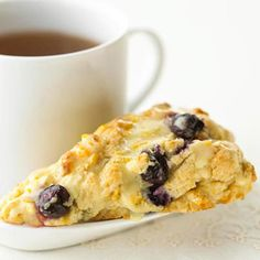 Blueberries and a little orange juice keep this breakfast staple fresh and moist.