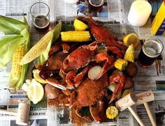 Maryland crab boil!