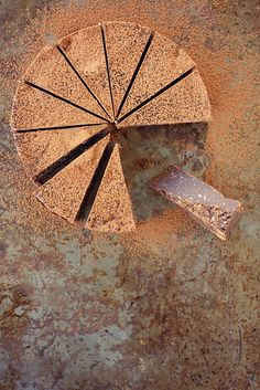 rich chocolate slice