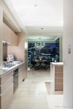 Lovely Luxurious Penthouse Design by Dayne Van Bree and John Pegrum: Lavish Apartment In The Residence Interior Decorated With Modern Kitche...