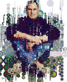 Steve Jobs in circles