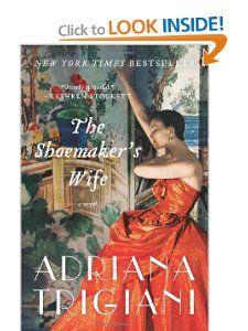 amazoncom, books, book worth, novel paperback, book clubs, novels, book pick, adriana trigiani, shoemak wife