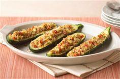 Kendal's Stuffed Zucchini Squash Recipe