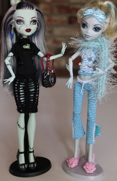 Spool knit monster high doll accessories