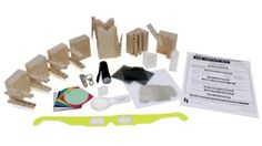 Teaching the properties of light is easy and exciting with this kit!