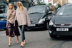 Camille Charriere wearing the ABEL pump at London Fashion Week