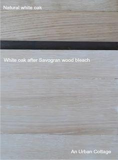 2 interiors floors on pinterest for Bleaching kitchen cabinets