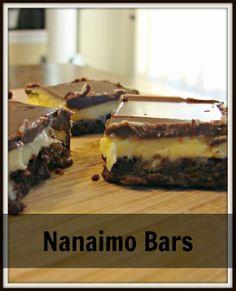 Jenn's Random Scraps: Nanaimo Bars, and Some Canada Love