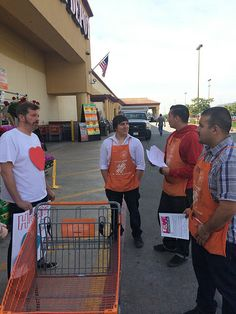Bee activists delivering valentines in LA asking Home Depot to stop selling bee-killing pesticides.
