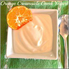 Orange Creamsicle Sugar Free Greek Yogurt