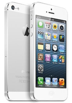 NEW in BOX APPLE iPhone 5 16GB WHITE  SILVER UNLOCKED SMARTPHONE