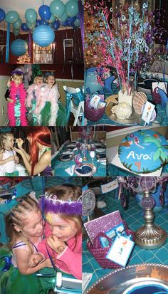 A Magical MermaidParty