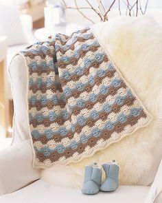Soft Stroller Blanket by Marianne Forrestal
