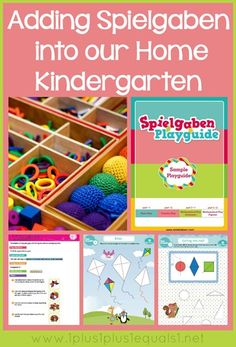 Using Spielgaben in Home Kindergarten from www.1plus1plus1equals1.net