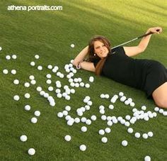 golf senior picture. Except I would put the year I graduate.