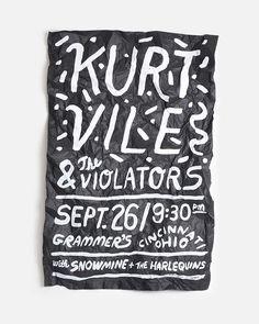 Kurt Vile Poster   Andrew Neyer