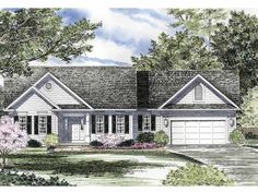 Eplans Cottage House Plan - You Will Love This Home - 1838 Square Feet and 3 Bedrooms from Eplans - House Plan Code HWEPL08455