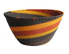 Africa | Telephone Wire Basket. | South Africa